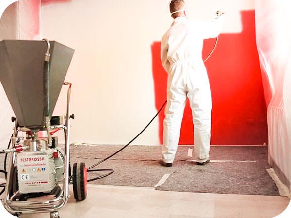 Покраска аппаратом высокого давления